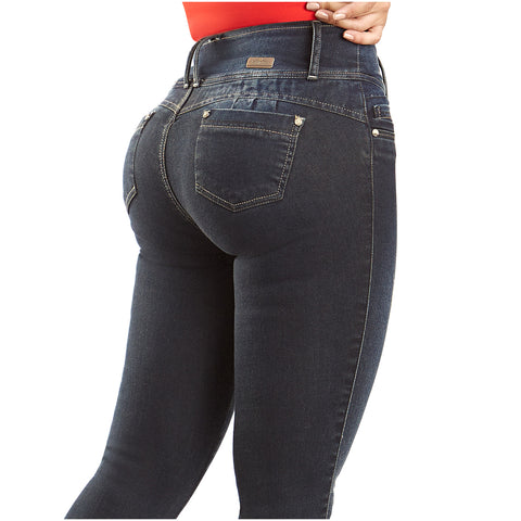 LT.Rose CS3B04 | Colombian Mid-Rise Butt Lifter Skinny Jeans - Pal Negocio