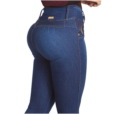 LT.Rose IS3004 | Butt Lifting Skinny Jeans Wide Waistband - Pal Negocio