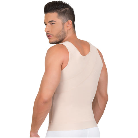 Fajas MariaE 8124 | Colombian Shapewear Vest For Men Abs Trimmer - Pal Negocio