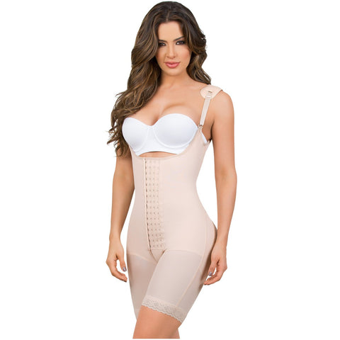 MariaE 9182 Women's Butt Lifter Shapewear with Shoulder Pads - Pal Negocio