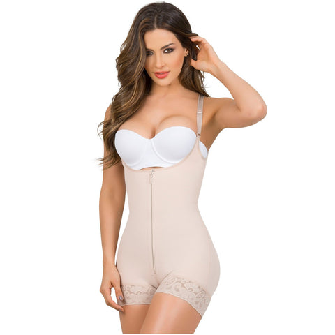MariaE 9235 Open Bust Shapewear for Women with Front Zipper - Pal Negocio