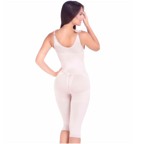 Fajas MariaE 9312 | Postoperative Full Body Shaper with Strap Cushions - Pal Negocio