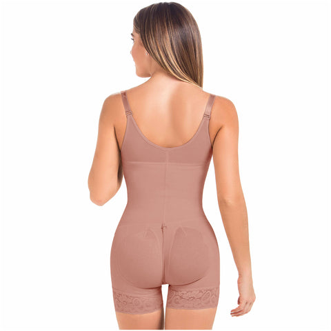 Fajas MariaE 9334T | Butt Lifter Shapewear Bodysuit | Postpartum and Daily Use