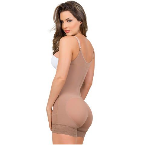 Fajas MariaE 9434 | Colombian Postpartum Boyshort Shapewear for Women | Strapless & Tummy Control - Pal Negocio
