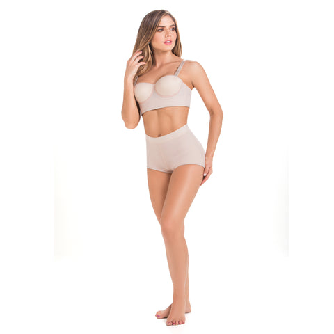 Fajas MaríaE 9469 | Butt Lifter Shapewear Panty for Women | Daily Use