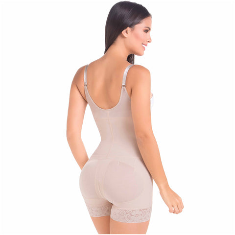 Fajas MariaE FP100 | Postpartum Faja Butt Lifting Shapewear For Daily Use | Open Bust & Front Closure - Pal Negocio