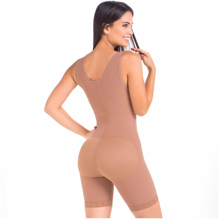 Fajas MariaE FQ100 | Post Surgery Body Shaper for Women | Open Bust & Front Closure - Pal Negocio