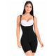 Fajas MariaE FQ100 | Post Surgery Body Shaper for Women | Open Bust & Front Closure