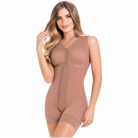 Fajas MariaE FQ102 | Post Op Shapewear for Women | Bra & Mid Thigh - Pal Negocio