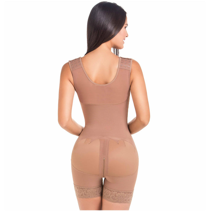 Fajas MaríaE FQ105 | Post Surgery Shapewear with Over Bust Strap | 2nd Stage