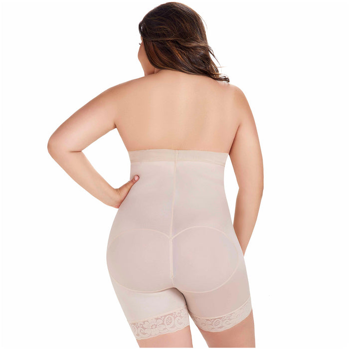 Fajas MariaE FU107 | Strapless Shapewear for Women for Daily Use | Tummy & Back Control - Pal Negocio