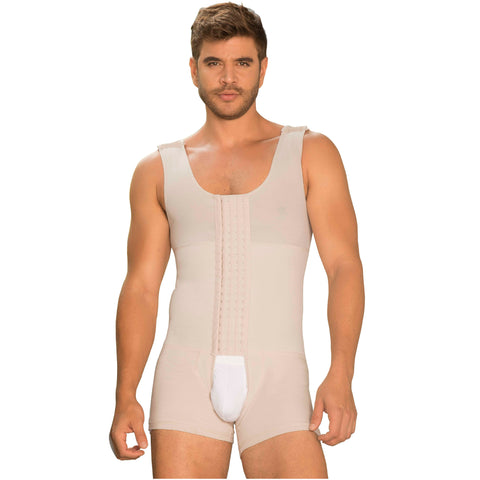 Fajas MariaE 8128 | Colombian Post Surgery Shapewear for Men