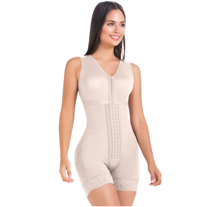 Fajas MariaE FQ102 | Post Op Shapewear for Women | Bra & Mid Thigh