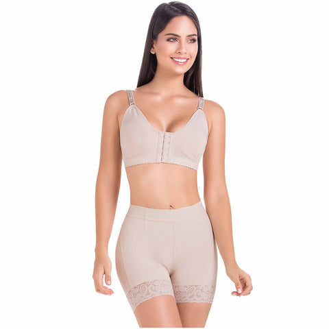 Fajas MariaE FU101 | High-Waisted Tummy Control Shorts for Women - Pal Negocio