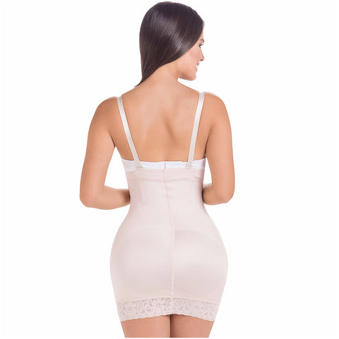 Fajas MariaE FU112 | Shapewear Slip Dress For Women | Tummy & Hips Enhancement - Pal Negocio