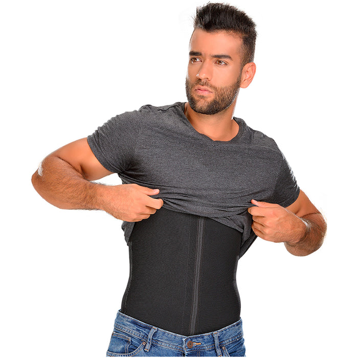 Fajas MYD 0760 Compression Shaper Shirts for Men / Powernet - Pal Negocio