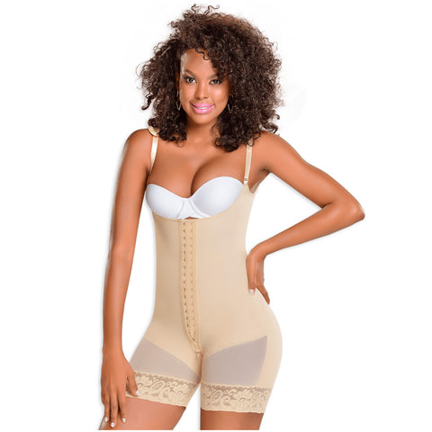 Fajas MYD 0068 Slimming Mid Thigh Body Shaper for Women / Powernet - Pal Negocio