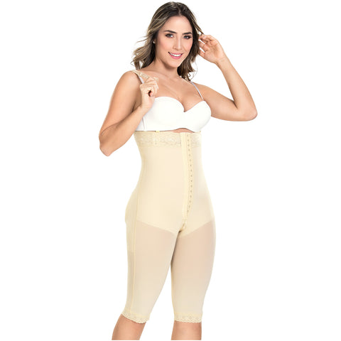 MYD F 0076 Colombian Strapless Butt Lifting Tummy Control Shapewear / Powernet