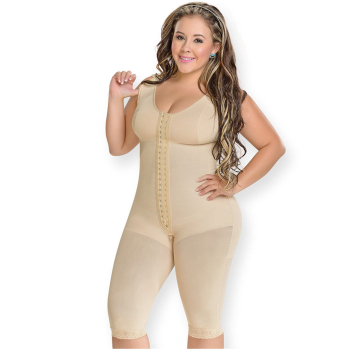 Fajas MYD 0120 Women's Full Bodysuit Body Shaper with Bra / Powernet - Pal Negocio