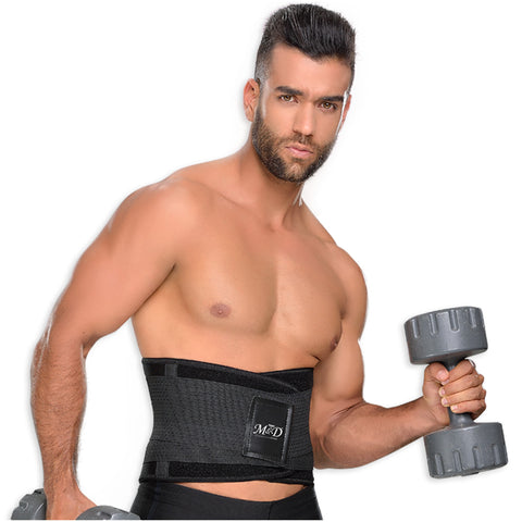 Fajas MYD 0152 Neoprene Waist Trimmer Trainer Workout Gym Belt - Pal Negocio