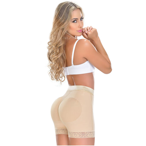 Fajas MYD 0321 High Waist Shaping Compression Shorts for Women / Powernet - Pal Negocio