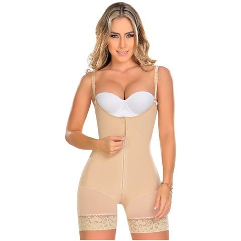 Fajas MYD 0768 Mid Thigh Slimming Body Shaper for Women / Powernet - Pal Negocio
