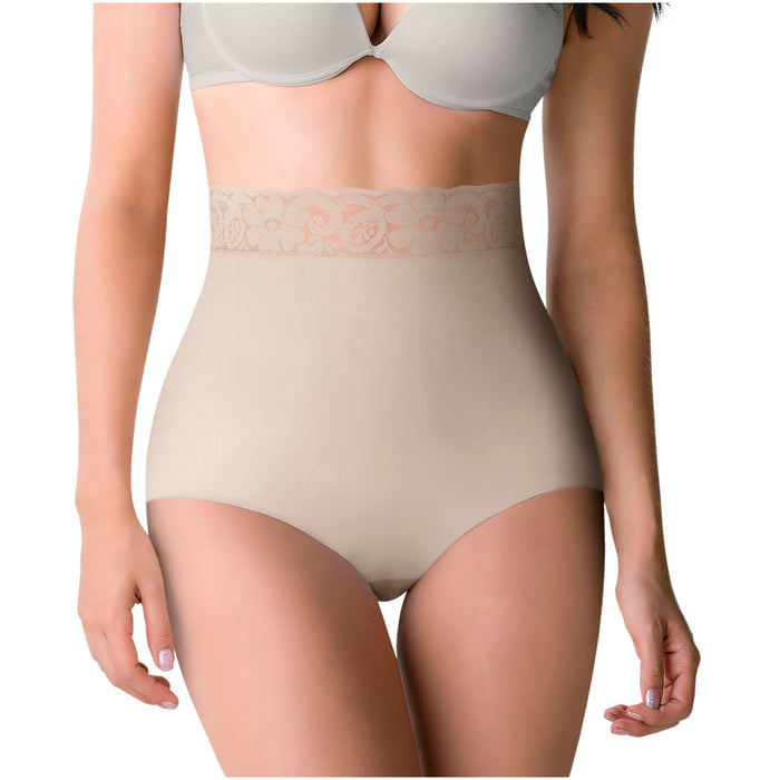 ROMANZA 2036 | Tummy Control High Waisted Panty | Butt Lifter Shapewear - Pal Negocio