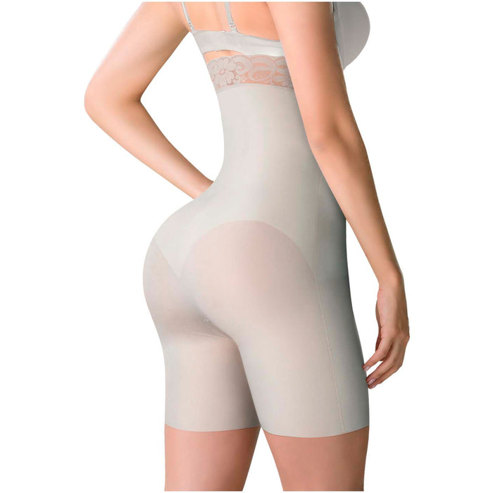 ROMANZA 2050 |  High Waisted Colombian Shapewear Shorts for Women | Butt Lifter Body Shaper - Pal Negocio