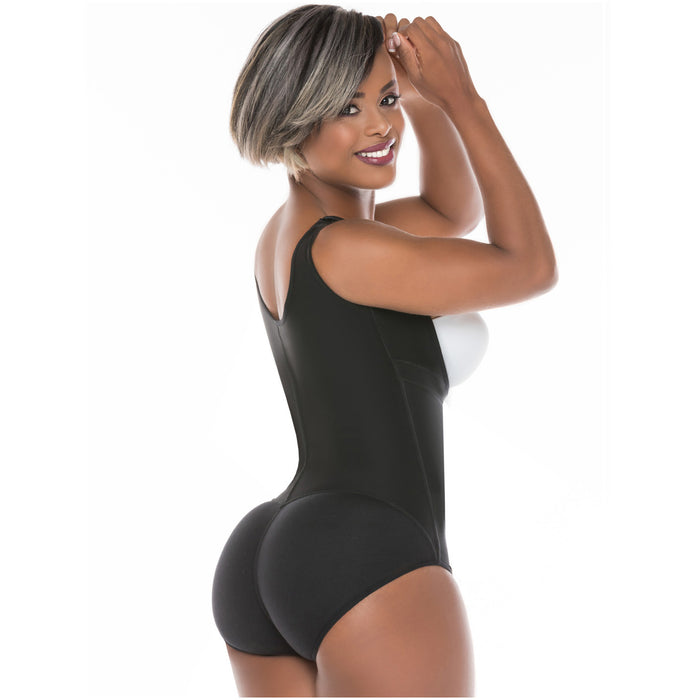 Fajas Salome 0419 | Butt Lifter Hiphugger Mid Thigh Body Shaper | Open Bust Tummy Control Shapewear for Women | Powernet - Pal Negocio