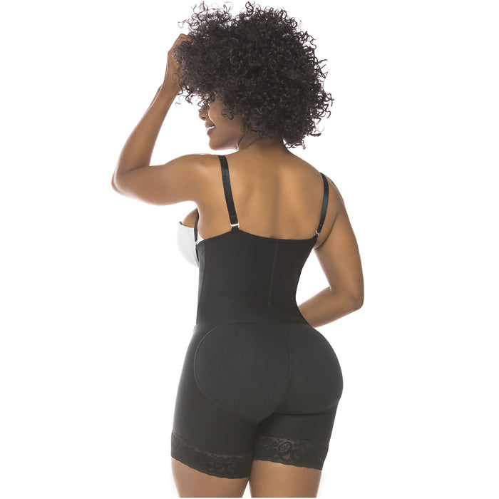 Fajas Salome 0215 | Postpartum Body Shaper after Pregnancy Girdle | Daily Use Strapless Butt Lifter Shapewear for Dress  - Pal Negocio