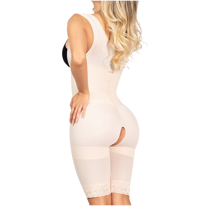 SONRYSE 212ZF | Colombian Shapewear Bodysuit for Women | Postpartum, Post Surgery and Daily Use