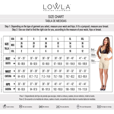 Lowla 1202 | Slimming One-piece Swimsuit with See-through Details - Pal Negocio
