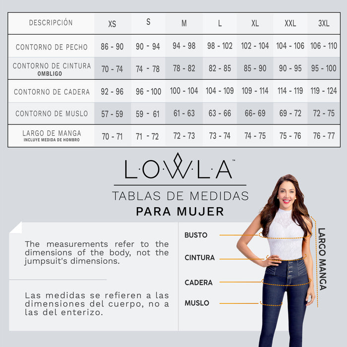 LOWLA 21842 | Butt Lifter Skinny Colombian Jeans for Women - Pal Negocio