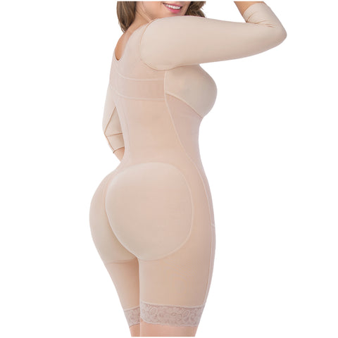UpLady 6189 Post Surgery Full Shapewear with Built-in Bra for Women