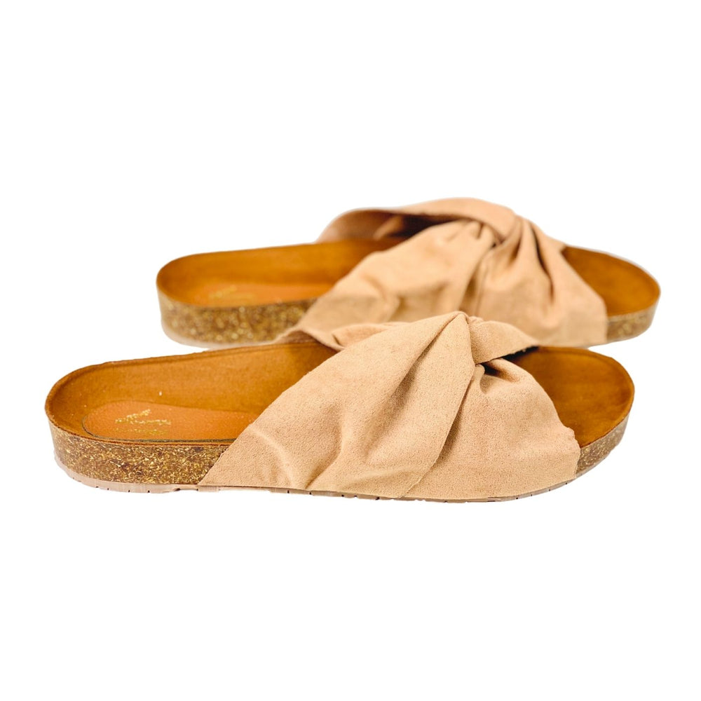 Silvia Cobos HOME Flat Sandals Nude
