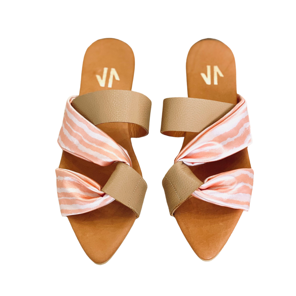 Silvia Cobos Intuition Beige Sandals