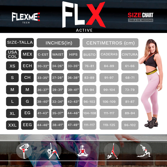 FLEXMEE 904000 Marble Active Tank Tops For Women | Polyamide - Pal Negocio