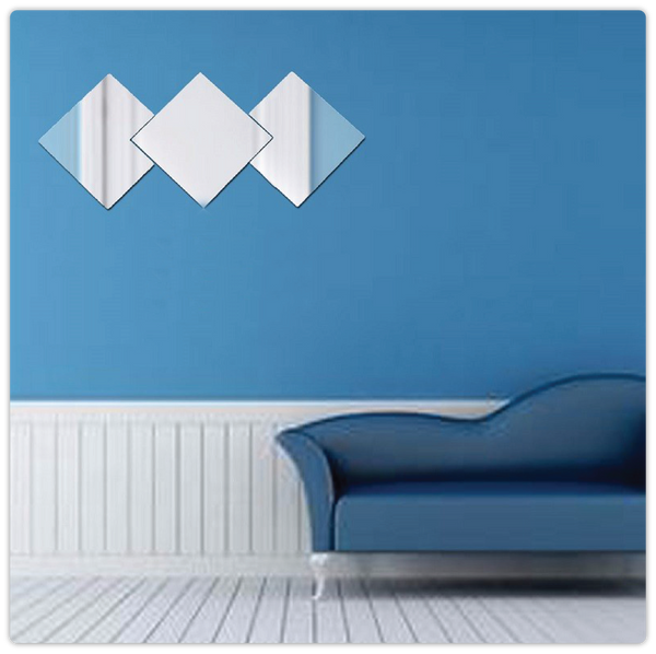 Removeable Self-adhesive Mirror Wall Stickers - ModiDen