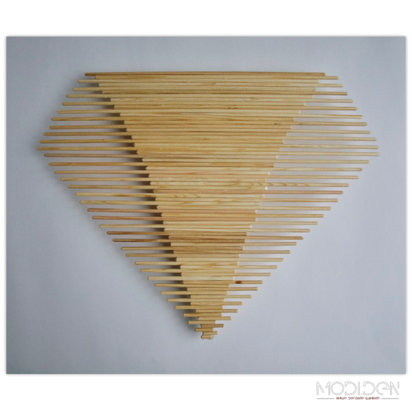 DIY Wooden Wall Decoration - Dimond - ModiDen