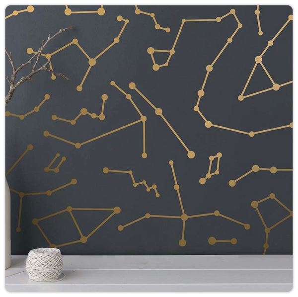 Geometric Constellation Wall Decals - ModiDen