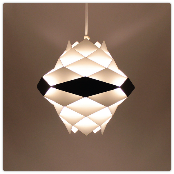 Origami-like Steel Pendant Hanging Lamp - ModiDen