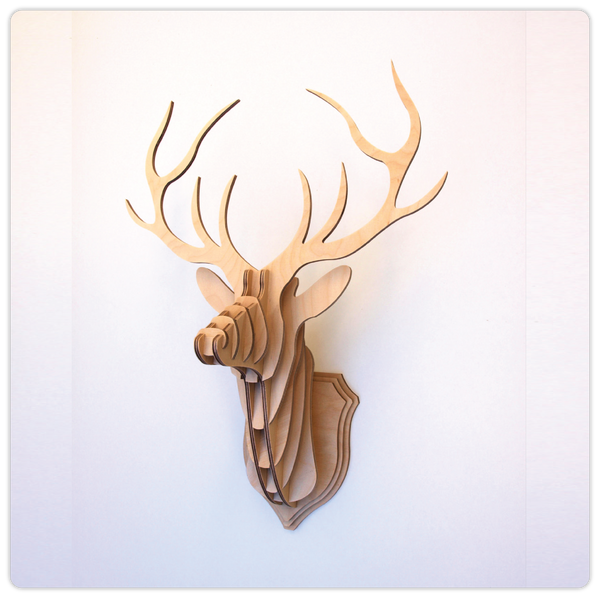 Stag Trophy - DIY Deer Head - ModiDen