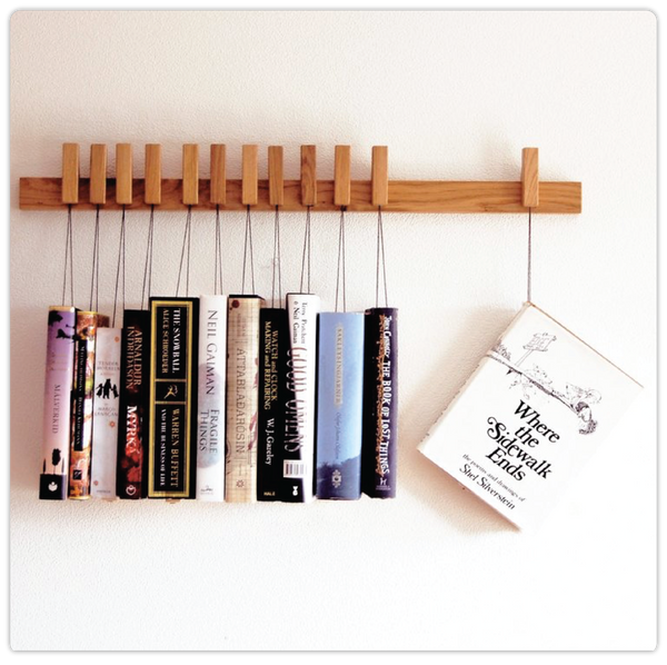Wooden Hanging Book Rack  - ModiDen