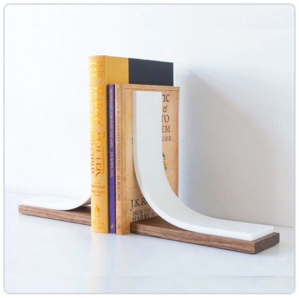 Minimalist Bookends Organizer - ModiDen