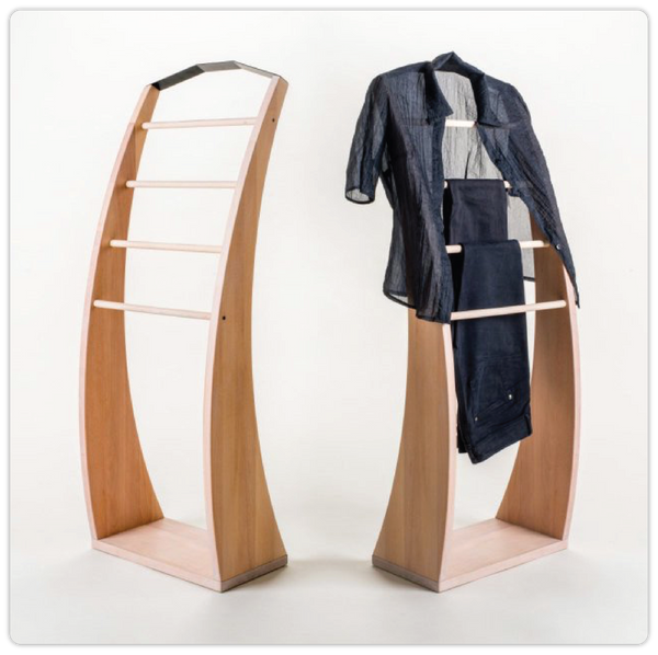 Wooden Clothes Valet - ModiDen