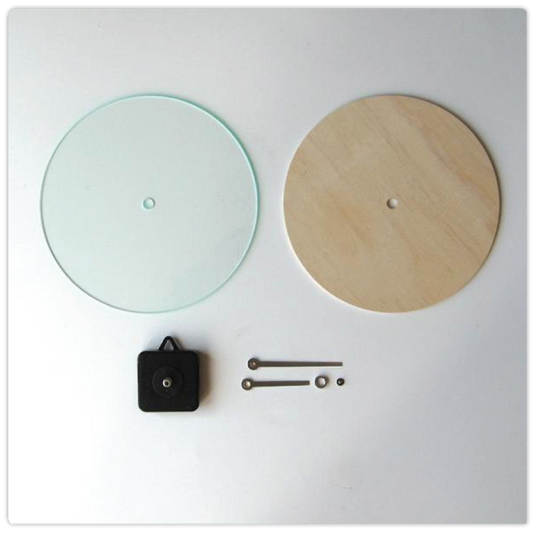 DIY Customizable Wall Clock Kit - ModiDen