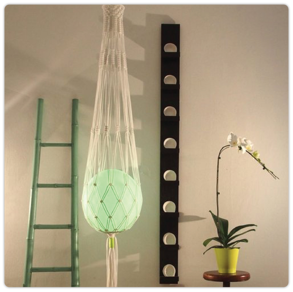 Knotted LED Ball Langing Lamp - ModiDen