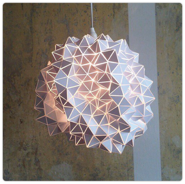 Geodesic Hanging Light Sculpture - ModiDen