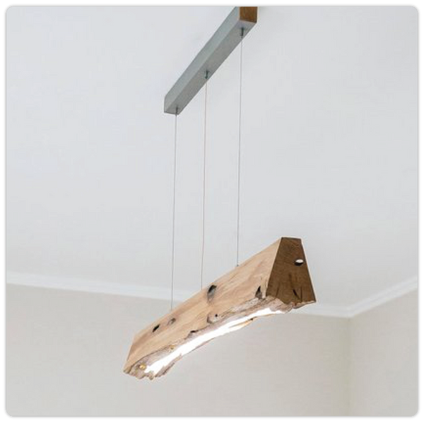 Rustic/Wooden Pendant Hanging Light - ModiDen