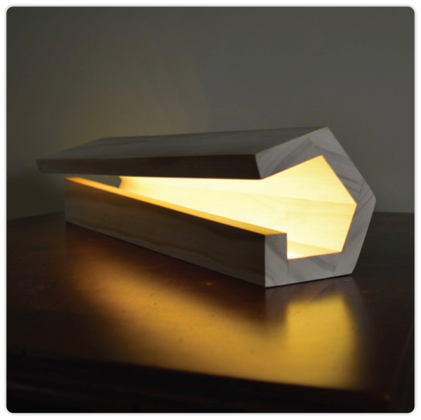 Modern Wooden Table Lamp - ModiDen